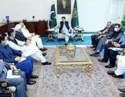 اسلام آباد، وزیراعظم عمران خان گیس کے ذخائر سے متعلق اجلاس کی صدارت ..