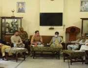 پاراچنار، کمانڈنگ آفیسر پاراچنار کرنل حماد خان جدون پاراچنار شہر میں ..