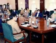 کراچی، وزیراعلی سندھ مراد علی شاہ 25 ویں اپیکس کمیٹی کے اجلاس کی صدارت ..