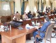 اسلام آباد، وزیراعظم عمران خان وفاقی کابینہ کے اجلاس کی صدارت کر رہےہیں۔