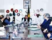 اسلام آباد، وزیر داخلہ شیخ رشید احمد نادرا کے معاملات سے متعلق اجلاس ..