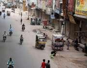 کراچی، کورونا وائرس کی چوتھی لہر میں کیسز کے بڑھنے پر لگائے گئے لاک ..