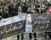 اسلام آباد، اسلام آباد بار ایسوسی ایشن کے ارکان اپنے مطالبات کے حق ..