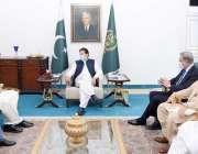 اسلام آباد، سندھ سے تعلق رکھنے والے ارکان پارلیمنٹ کا وفد وزیراعظم ..