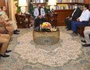 کراچی، گورنر سندھ عمران اسماعیل سے حیدر آباد کی تاجر برادری کا 7 رکنی ..