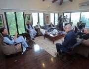 اسلام آباد، وزیراعظم عمران خان سے امریکی نمائندہ خصوصی برائے افغانستان ..