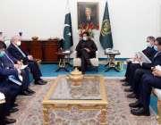 اسلام آباد، وزیراعظم عمران خان سے اُزبکستان کے وزیر خارجہ ڈاکٹر عبدالعزیز ..
