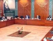 اسلام آباد، وزیر خارجہ شوکت ترین قومی اقتصادی رابطہ کمیٹی  کے اجلاس ..