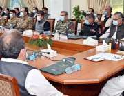 پشاور، وزیراعلی خیبرپختونخوا محمود خان ڈسٹرکٹس کے انضمام سے متعلق ..