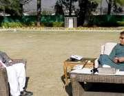 اسلام آباد، وزیراعظم عمران خان سے گورنر خیبرپختونخوا شاہ فرمان ملاقات ..