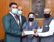 اسلام آباد، صدر مملکت ڈاکٹر عارف علوی پیراولمپکس میں گولڈ میڈل حاصل ..