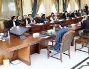 اسلام آباد، وزیراعظم عمران خان اعلی سطحی اجلاس کی صدارت کر رہے ہیں۔