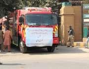 کراچی، وزیراعظم عمران خان کی جانب سے جدید ٹیکنالوجی پر مبنی 52 فائر ..