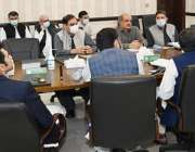 پشاور، وزیراعلی خیبرپختونخوا محمود خان محکمہ جنگلات کے اجلاس کی صدارت ..