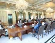 اسلام آباد، وزیراعظم عمران خان موسمیاتی تبدیلی سے متعلق کمیٹی کے تیسرے ..