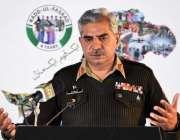 راولپنڈی، ڈی جی آئی ایس پی آر میجر جنرل بابر افتخار پریس کانفرنس سے ..