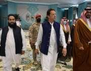 مدینہ منورہ، وزیراعظم عمران خان وفد کے ہمراہ مدینہ منورہ پہنچ گئے ہیں۔