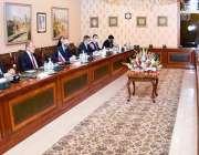 اسلام آباد، وزیر خارجہ شاہ محمود قریشی وفد سے وفد کے ہمراہ روسی ہم منصب ..
