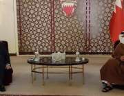 بحرین، وزیر خارجہ شاہ محمود قریشی بحرین کے وزیراعظم ولی عہد شہزادہ ..
