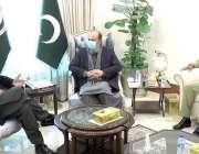کوئٹہ، وزیراعظم عمران خان سے وزیراعلی بلوچستان جام کمال خان اور کمانڈر ..