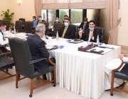اسلام آباد، وزیراعظم عمران خان ملک کی اقتصادی صورتحال سے متعلق اجلاس ..