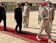 ریاض، چیف آف نیول سٹاف ایڈمرل محمد امجد خان نیازی کو سعودی عرب کے سرکاری ..