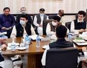 پشاور، وزیراعلی خیبرپختونخوا محمود خان پاور اور انرجی ڈیپارٹمنٹس ..