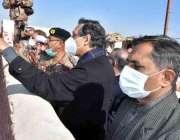 چمن، وزیراعظم کے معاون خصوصی برائے اسٹیبلشمنٹ محمد شہزاد ارباب کی ..