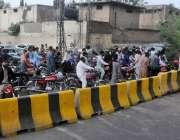 راولپنڈی، کالعدم جماعت کی احتجاجی کال کے باعث صدر جانے والے راستے بلاک ..