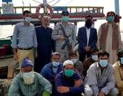 کراچی، پاکستان میری ٹائم سیکورٹی ایجنسی کے ہاتھوں کھلے سمندر میں منشیات ..