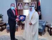 بحرین، بحرین کے وزیر داخلہ جنرل شیخ راشد بن عبداللہ الخلیفہ وزارت داخلہ ..