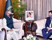 اسلام آباد، صدر مملکت ڈاکٹر عارف علوی سے ازبکستان کیلئے پاکستان سفیر ..