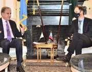نیویارک، وزیر خارجہ شاہ محمود قریشی سالووینیا کے وزیر خارجہ سے ملاقات ..
