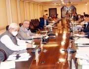 اسلام آباد، وفاقی وزیر خزانہ شوکت ترین پرائس کنٹرول کمیٹی کے اجلاس ..