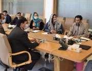 اسلام آباد، چئیرمین نیب جسٹس ریٹائرڈ جاوید اقبال سے لاثانی منصوبے ..