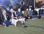 کوئٹہ، وزیراعلی بلوچستان جام کمال خان امام بارگاہ ولی عصر میں میڈیا ..