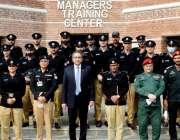 لاہور، فیکلٹی ممبران و اے ایس پیز پر مشتمل نیشنل پولیس اکیڈمی کے وفد ..