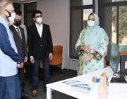 اسلام آباد، صدر مملکت ڈاکٹر عارف علوی نیشنل انکیوبیشن سینٹر میں جاری ..