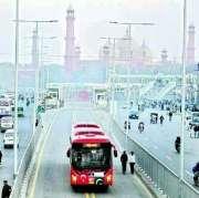 Metro Bus Lahore Pakistan