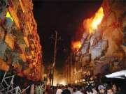 Bomb blasts in Abbas Town