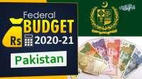 Federal Budget 2020 2021 Pakistan