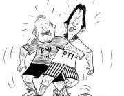 پنجاب میں حکومت بنانے کیلئے پی ٹی آئی اور ن لیگ کی کوششیں۔ خبر
