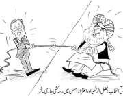 صدارتی انتخابات، فضل الرحمن اور اعتزاز احسن میں رسہ کشی جاری۔ خبر