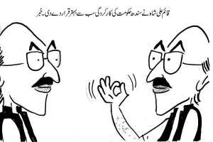 قائم علی شاہ نے سندھ حکومت کی کارکردگی سب سے بہتر قرار دے دی۔ خبر
