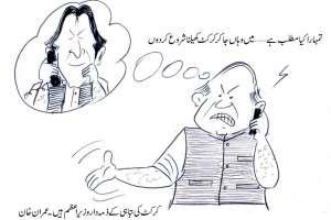 کرکٹ ٹیم کی تباہی کے ذمہ دار وزیراعظم ہیں، عمران خان