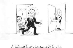 بلاول بھٹو  نے زرداری اور نواز شریف ملاقات کی مخالف کر دی۔ خبر