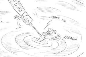 کراچی میں بارشیں