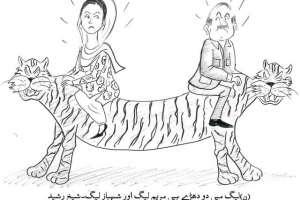 ن لیگ میں دو دھڑے ہیں مریم لیگ اور شہباز لیگ۔ شیخ رشید