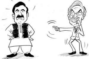 شیخ رشید قابل رحم ہیں عمران خان نے ووٹ ہی نہیں دیا۔ خواجہ آصف