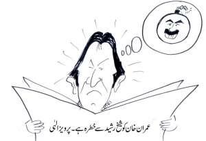 عمران خان کو شیخ رشید سےخطرہ ہے، پرویز الہی